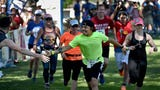 See the Reno Tahoe Odyssey out on the course as teams gather and cheer each other on.
