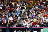 Chris Corl, general manager at the U.S. Cellular Center, talks about how hosting the Fed Cup for the second year in a row will impact Asheville.