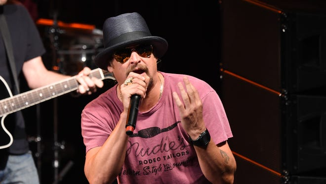Kid Rock performs at at Irving Plaza on May 5, 2015 in New York.