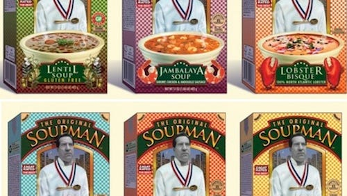 The Original Soupman soups are now available in Kroger stores