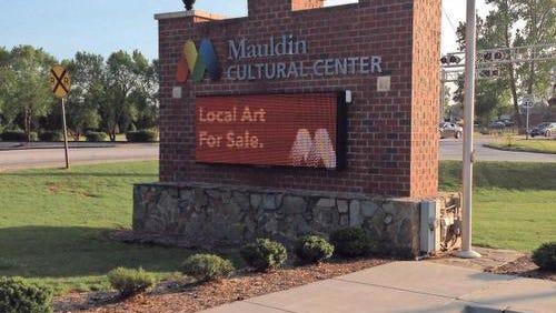 Mauldin Cultural Center is a major part of the Golden Strip arts scene.