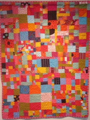 The abstract quilts of Bonnie Hull will be on exhibit at the Compass Gallery from Jan. 11 through Feb. 3.