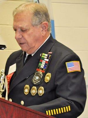 Richard Silverberg, longtime Hillcrest Volunteer Fire Department member and chaplain.