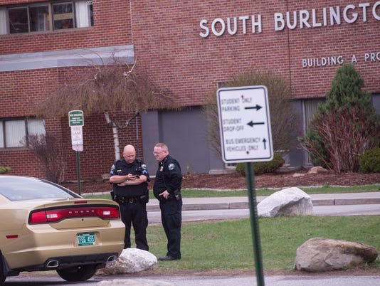 South Burlington High School Lockdown 5