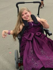 Hendersonville teenager Mary McAuley was severely disabled