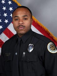 East Precinct officer Terrance McBride
