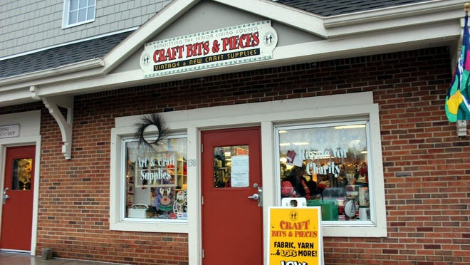 Craft Bits & Pieces, located in Fairport's Village Landing plaza, has become a destination for crafters and others.