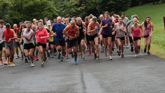 The Barry Hopkins Run along Olana Lake in 2013.