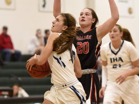 Katie Jones recently returned from injury to bolster seventh-seeded Immaculate Heart Academy.