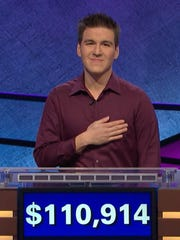 The show said in a press release that James Holzhauer won the episode with a total of $110,914. The previous record of $77,000 was set by Roger Craig in 2010.