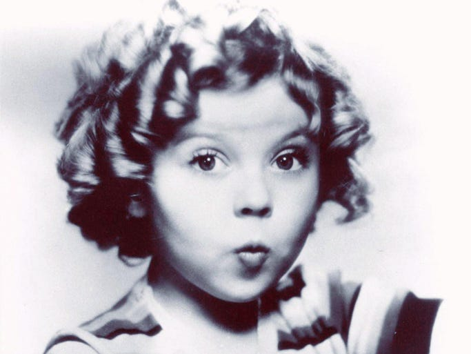Shirley Temple appeared in more than 20 feature films from 1934-38 and was consistently the top U.S. movie star. She died Feb. 10 at the age of 85.