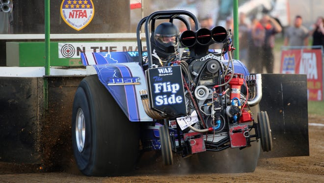 Tractor pull is among attractions at this year's Butler County Fair which opens Sunday for a seven-day run.