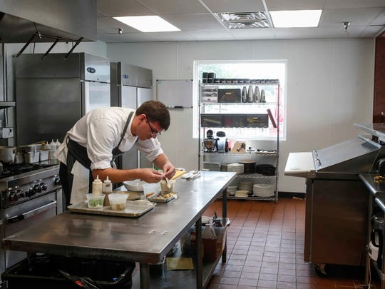 Jacob Demars recently took over as executive chef at Trostel's Dish in Clive.