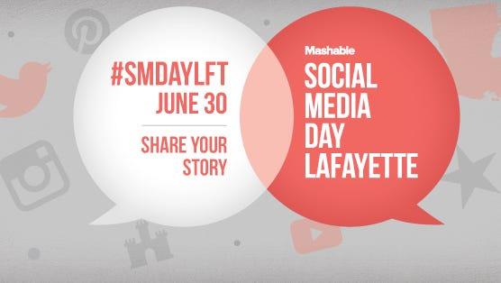 Social Media Day is June 30 in Lafayette.