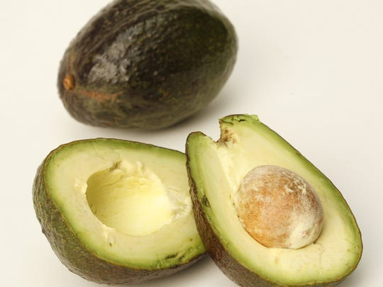 Avocados have a lot of calories.