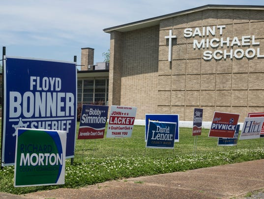 Election Day: Shelby County Primary