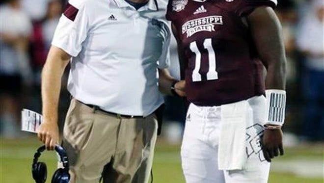 Mississippi State ended its quarterback rotation against South Alabama.