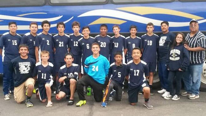 The Ruidoso High School boys soccer team are the A/4A District 4 champions.