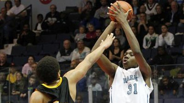 2013 Bishop Kearney basketball Thomas Bryant jumper vs. Greece Athena