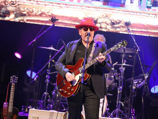 Elvis Costello & The Imposters perform in this file photo.