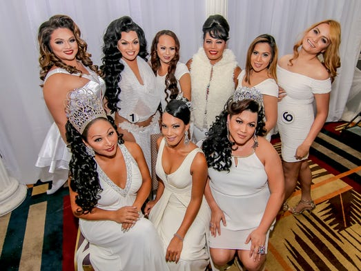 Former Miss Pacificana queens and 2015 contestants
