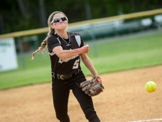Panthers ave Megan Zinn allowed just three hits Tuesday
