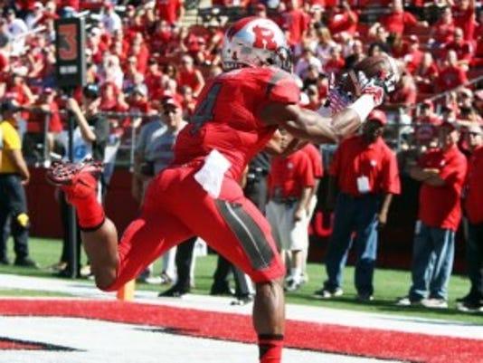 Rutgers star Leonte Carroo, an Edison native, enters the season as the top wide receiver in the Big Ten. (Photo: Mark R. Sullivan/Gannett)