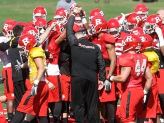 Most Rutgers football players, like all student-athletes on full scholarship at the school, will receive about $4,200 in cost-of-attendance stipends in 2015-16.(Photo: Jason Towlen/Staff photographer)