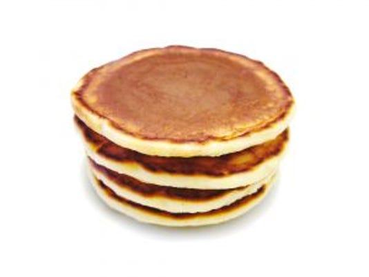 Use this recipe to make 6 to 8 vegan pancakes.
