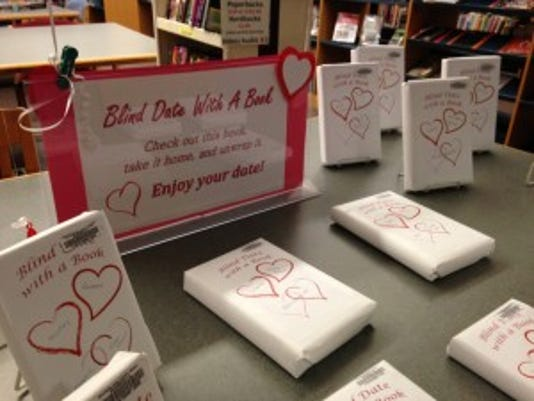 """Paul Smith Library is offering """"A Blind Date With A Book"""" for Valentine's Day."""