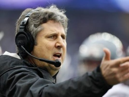 Washington State coach Mike Leach won't have many friends in New Jersey when his team visits Rutgers.(Photo: Joe Nicholson-USA TODAY Sports)