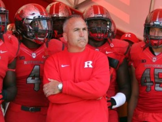The multi-million question for Rutgers is whether or not Kyle Flood has an impact on the sideline?(Photo: Mark R. Sullivan/Staff photographer)