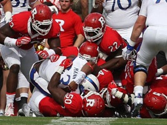 Rutgers has committed 38 penalties in four games, fewer than only five FBS teams.(Photo: MARK R. SULLIVAN/Staff photographer)