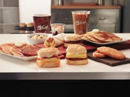 McDonald's all-day breakfast begins today.