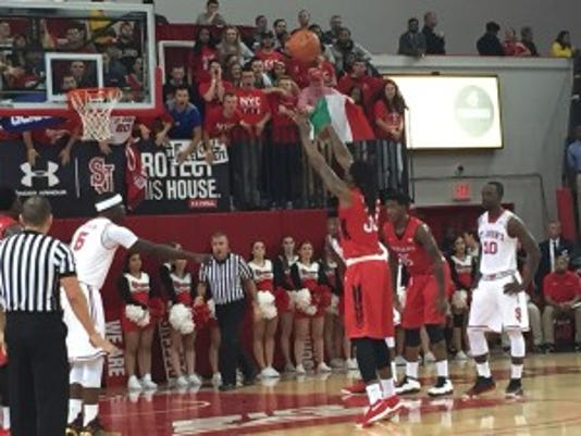 Free throws were a problem for Rutgers Thursday night.