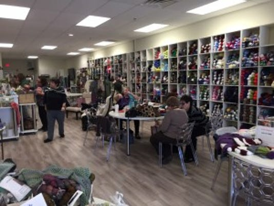 KnIt's Fabulous is open and airy, and it has a terrific inventory.