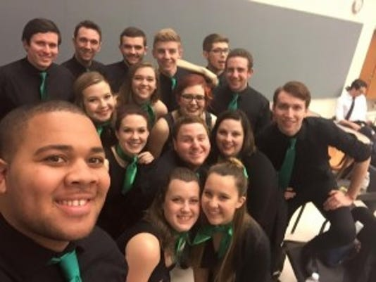 YCP Rhapsody is York College's a capella group. (Submitted)