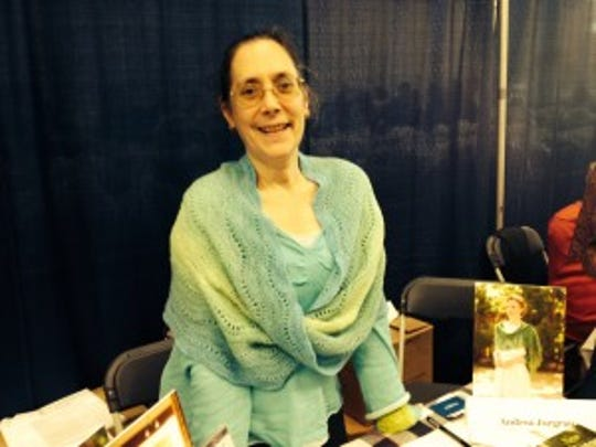 I saw Andrea Jurgrau, author of New Vintage Lace,""