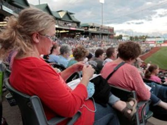 Please come to the Stitch 'N  Pitch game at TD Bank Ballpark on Thursday, Aug. 18 at 7:05 p.m.