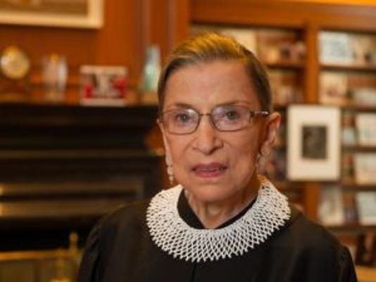 RBG hospitalized after fall in her office