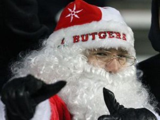 Will Rutgers get a bowl gift from Santa Claus or coal from the Big Ten?(Photo: Mark R. Sullivan/Staff photographer)