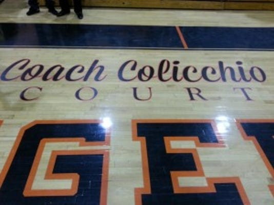 Coach Colicchio Court is one tough place to play