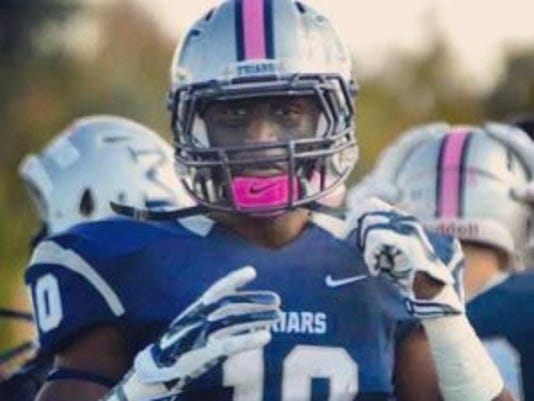 Malvern Prep (Pa.) linebacker Trevor Morris, who is headed to Rutgers, first will play for Team USA in the International Bowl.(Photo: Courtesy of Trevor Morris)