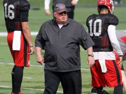 Ralph Friedgen will become an advisor for Rutgers football as Ben McDaniels takes over the offensive coordinator duties.(Photo: File photo)