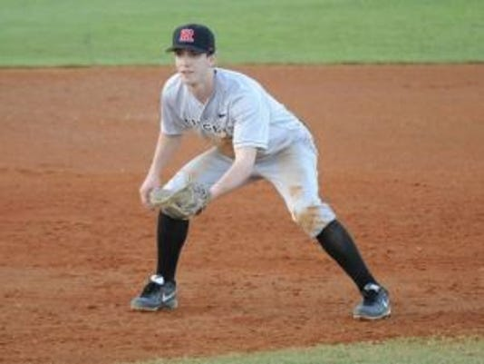 Sayreville native Christian Campbell is expected to start at shortstop and be a hard-throwing reliever for Rutgers baseball in 2015.(Photo: Eric Espada/Courtesy of Rutgers athletics communications)