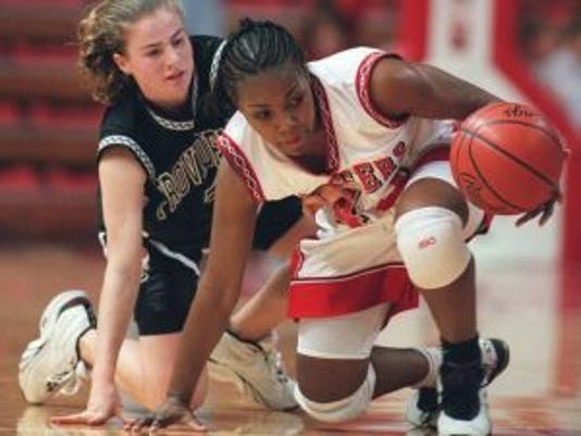 Tasha Pointer was named Big East Rookie of the Year in 1998 as she led Rutgers to the Sweet 16.(Photo: File photo)