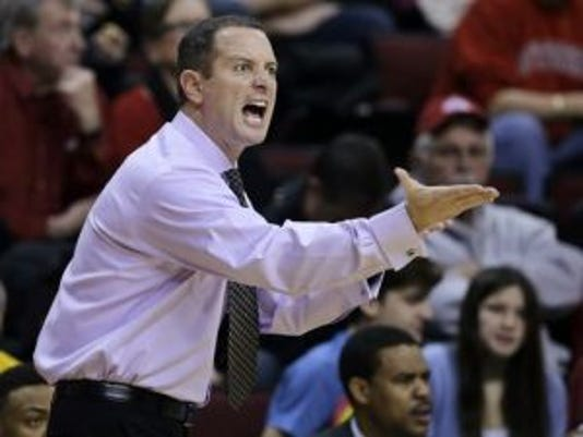 Former Rutgers men's basketball Mike Rice was fired in April 2013 after video tapes surfaced showing him physically and verbally abusing his players.(Photo: AP)