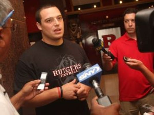 Scott Vallone was a star defensive lineman for Rutgers from 2008-12 and now is a graduate assistant coach at his alma mater. (Photo: File photo)