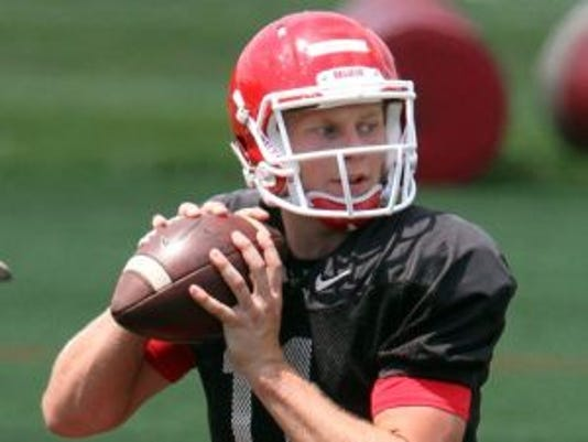 Hayden Rettig will battle others to become Rutgers next starting quarterback this spring. (Photo: Mark R. Sullivan/Gannett)