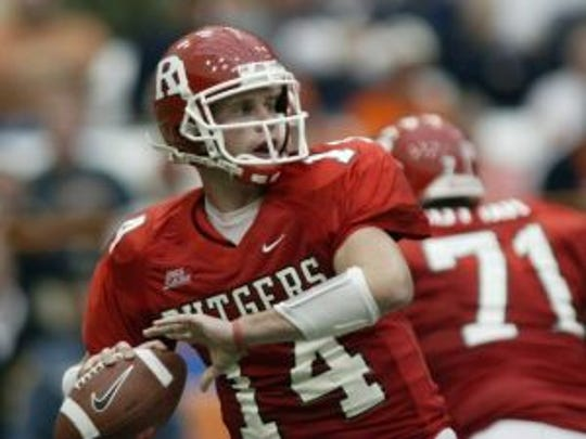 Arguably the best quarterback in Rutgers history, Mike Teel was a two-star recruit out of Don Bosco Prep. (Photo: File photo)